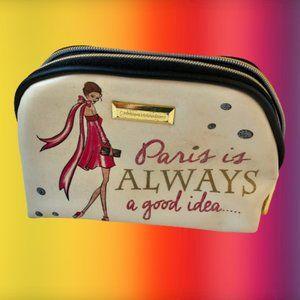 Catherine Malandrino Cosmetic Bag PARIS
